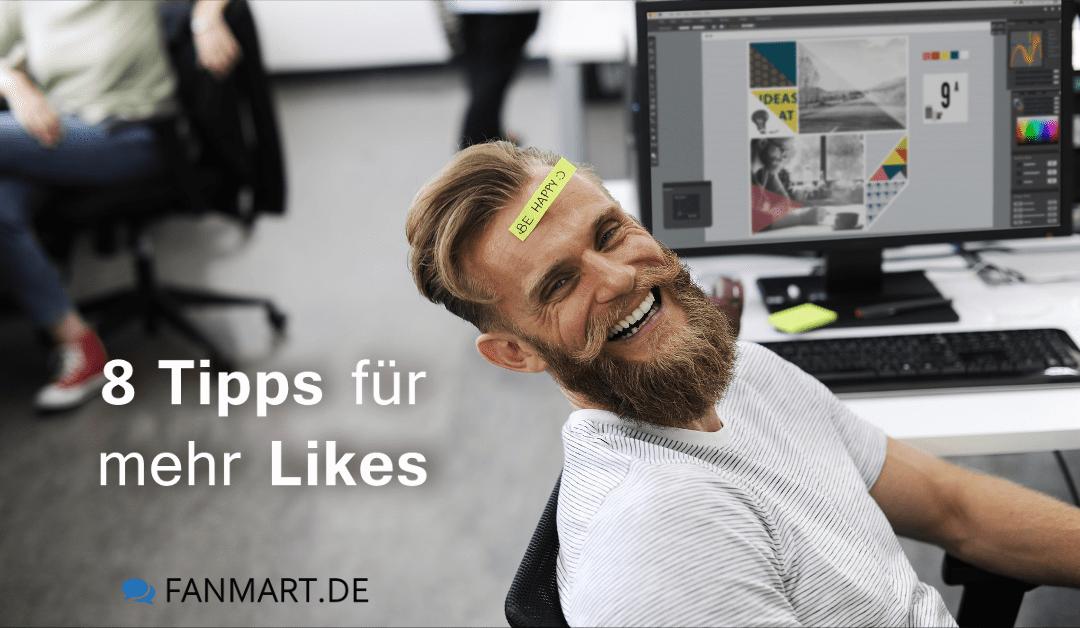 Facebook Likes bekommen – 8 Tipps für mehr Likes