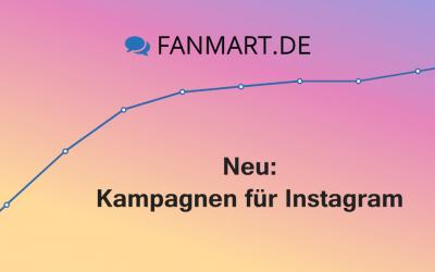 Neu ab 16. Oktober: Kampagnen für Instagram