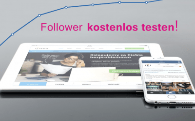 Instagram Follower kostenlos testen!
