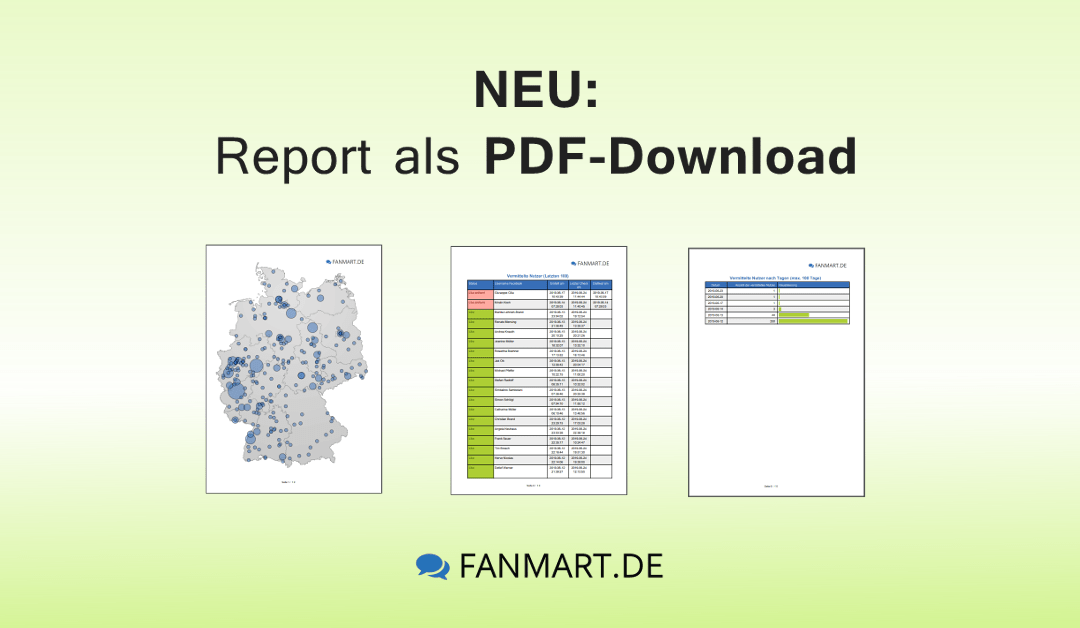 Neu: Kampagnen-Reports als PDF downloaden