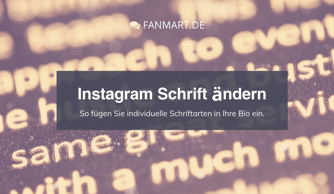 Instagram Schrift ändern – So ändern Sie die Schriftart in der Bio